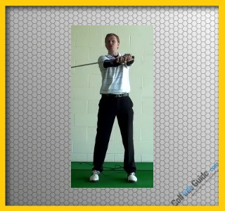 Golf Stretch Vertical Club Waggle Video
