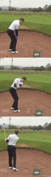 Improve Sand Shots with Shallower Swing