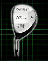 Thomas Golf Hybrid 230cc Mini-Drivers Mens Left Handed