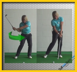 Tip #4 Swing to the Target