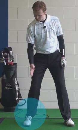 Back Leg Keys a Powerful Golf Swing