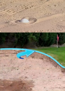 Why the Ball Stays in the Bunker