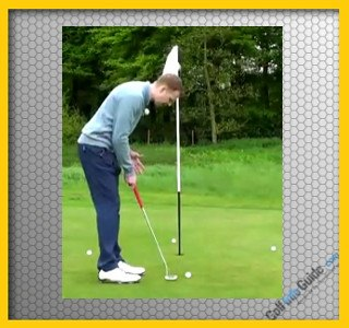 Putting-Compass Practice Golf Game Video