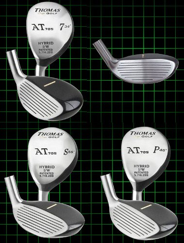 Thomas Golf Traditional-Shape Chippers Left Handed