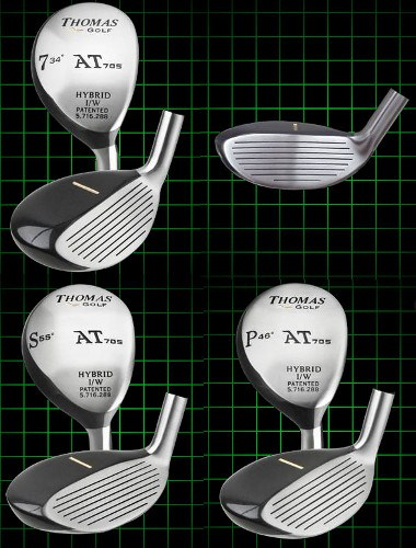 Thomas Golf Traditional-Shape Chippers Right Handed