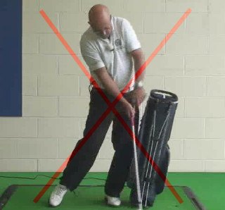 Swing Tips – How to Rotate Your Body without Sliding