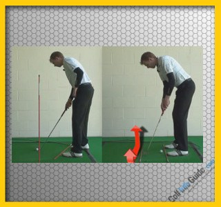 How To Hit A Golf Draw Tour Alignment Stick Drill