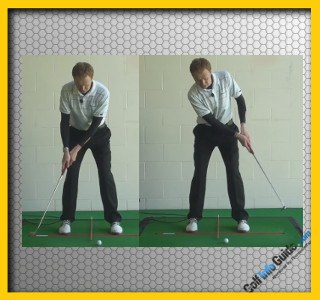Putting With Best Ball And Shoulder Positioning Tour Alignment Stick Drill