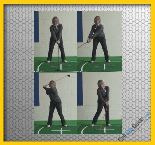 Correct Golf Swing Sequence Women, Video