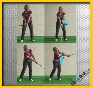 Create Fully Extended Arms at Impact, Ladies Video