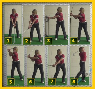 Right Arm Swing Sequence From Start to Finish, Video