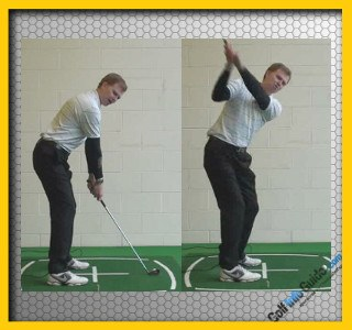 Tip #2 Swing Away From the Target – Be Wide