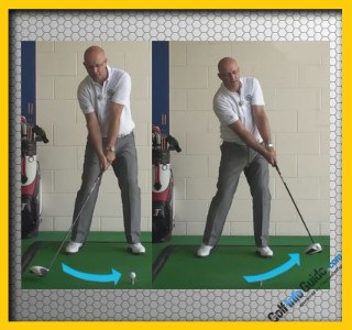 Tip #3 Head Behind Ball at Impact