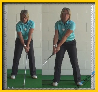 Should I Lock My Right Arm In My Golf Set Up Position?