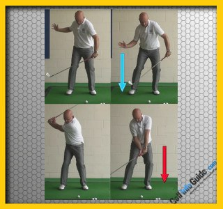 How to Leverage Your Power with Downswing Squat - Golf Tip