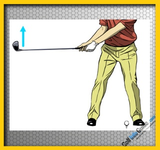 Toe Up for Straighter Golf Shots