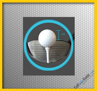 Beginner Golf Tip: Correct Tee Height for Hitting the Driver