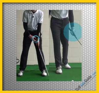 Choke Up on the Club for Better Accuracy and Contact, Golf Tip