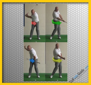 Fast Down Swing Hip Turn To Generate More Club Head Speed, Golf Swing Tip
