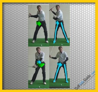 Golf Tip: Proper Weight Shift on the Takeaway and Downswing