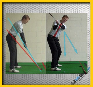 How Can Focusing On The Handle And Its Position Help Improve My Golf Swing?