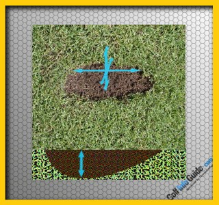 How To Fix The Problem Of Your Divots Being Too Deep, Golf Tip