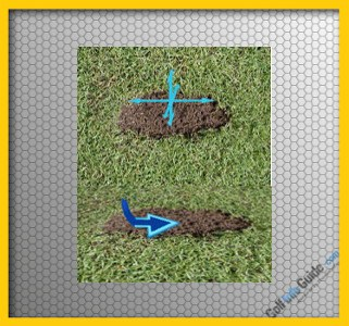 What You Can Tell From Your Divots, Golf Tip