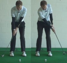 A Sweeping Short Game Shot