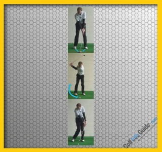 Correct Wrist Bend for Close in Pitch Shot - Golf Tip