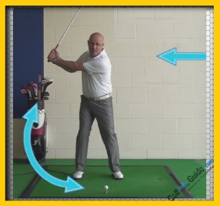 Backswing Length - How Far? - Senior Golf Tip