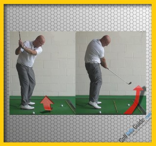 How To Create Inside To Outside Swing Path - Senior Golf Tip