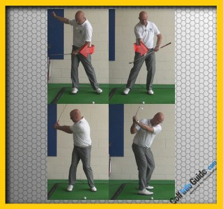 Stop Your Backswing Sway For More Power - Senior Golf Tip