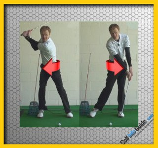Does The Left Hip Move Upwards In The Down Swing? Golf Swing Tip