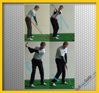 How to Correct a Flat Golf Swing
