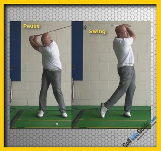 Consider The Benefits Of A Pause At The Top Of The Backswing - Senior Golf Tip