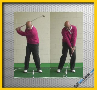 Position Club Shaft To Lean In The Target Direction For Solid Iron Shots, Senior Golf Tip
