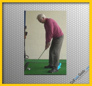 Senior Golf Tip 1: Flare Lead Foot for Better Move Through Ball