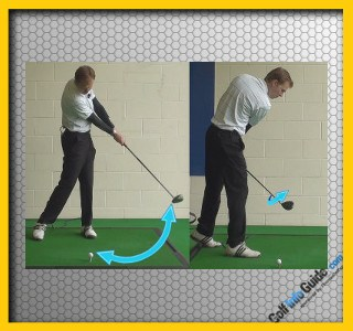 Double Cross Golf Swing Fault