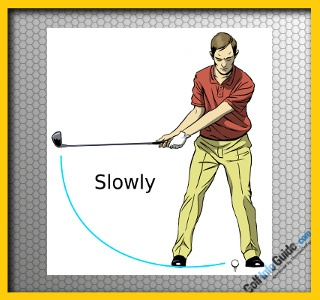 Golf Tip: The Low And Slow Takeaway