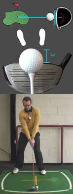 Correct Tee Height for Hitting the Driver