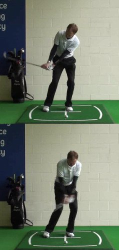 Chipping with the Ball Below Your Feet