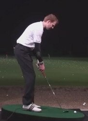 How to Hit a Golf Ball That's Below Your Feet