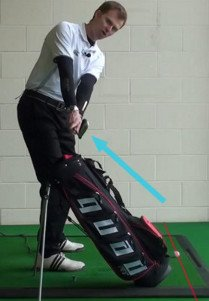 Swing On Plane with Stand Bag Drill