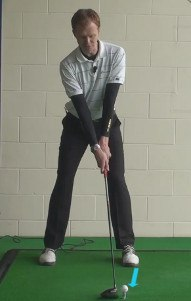 Tip #1 – Play the Ball Near the Front of Your Stance
