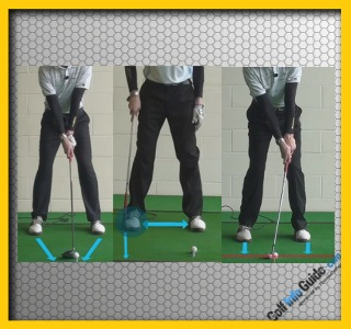What are the Correct Stances for Different Golf Clubs?