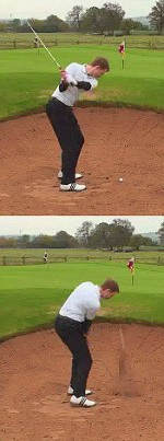 Increase Swing Speed for More Spin on Sand Shots