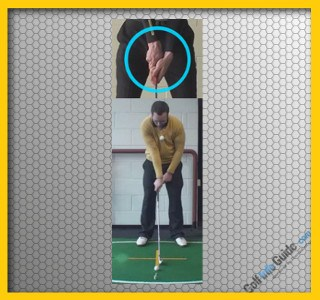 Left Hand Tip: Stronger Grip Helps Correct Slice Video
