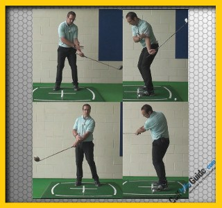 Left Handed Golf Tip: Help me correct cure my golf hook Video
