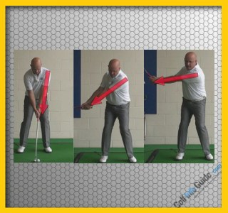 Left Hand Golf Tip: What Is The Proper Left Arm Swing Sequence