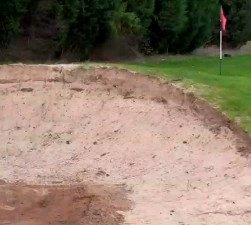 Attack Soft Lies and Pine Straw Like Fairway Bunkers?